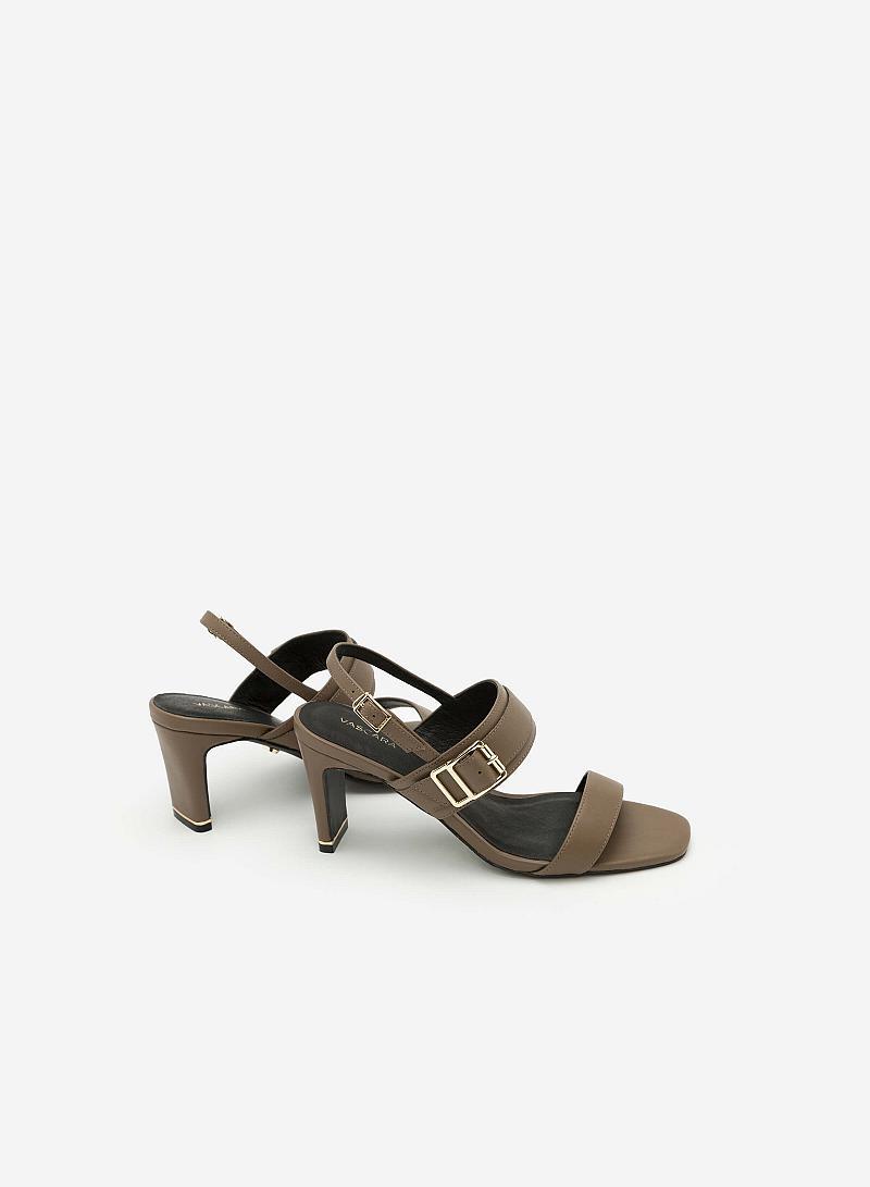Giày Cao Gót SDN 0596 - Màu Xám Đậm - vascara