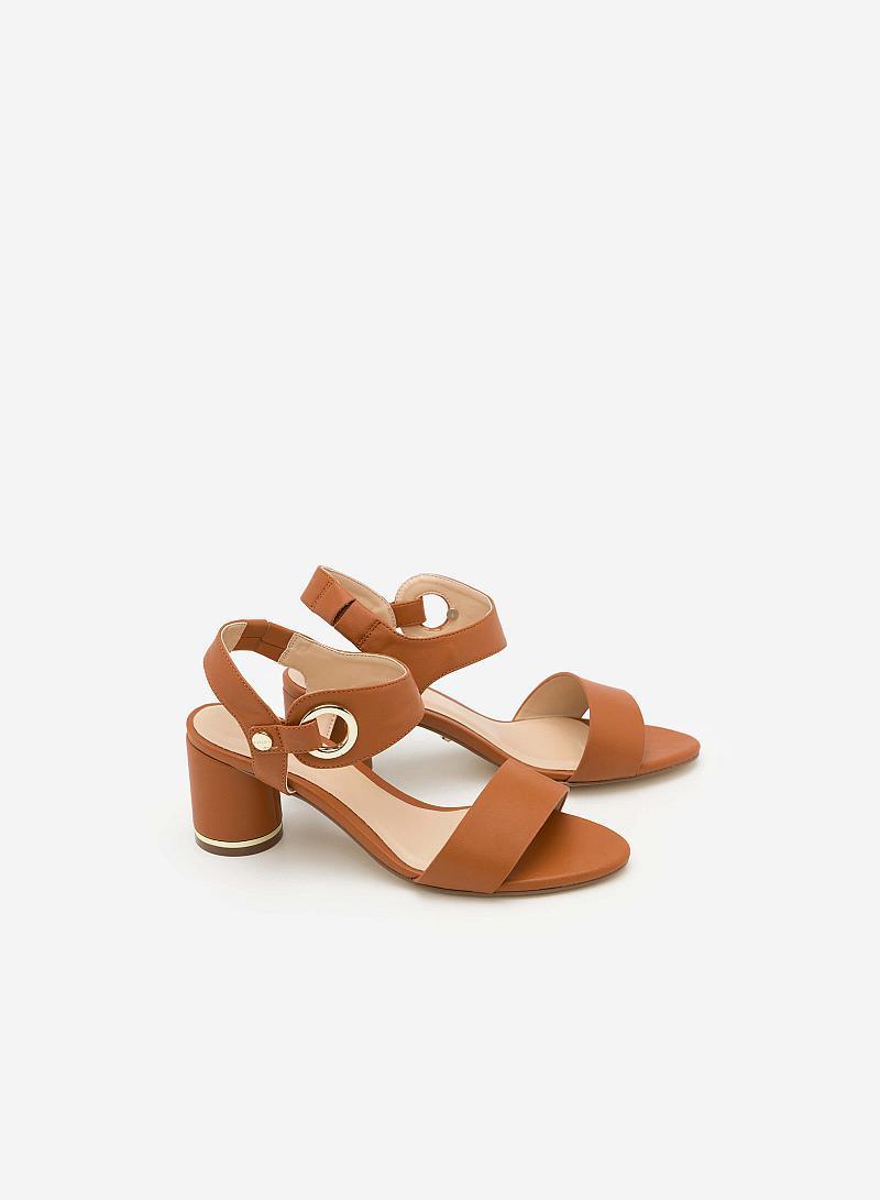 Giày Cao Gót SDN 0589 - Màu Nâu Nhạt - vascara