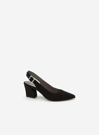 Giày Cao Gót BMN 0273 - Màu Đen