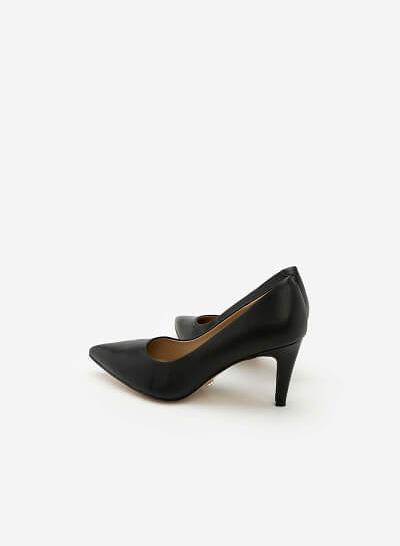 Giày Cao Gót BMN 0289 - Màu Đen - VASCARA