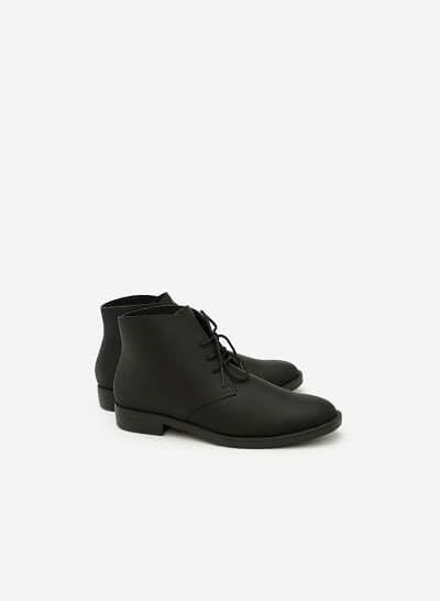 Giày Boots Cổ Điển - BOT 0875 - Màu Đen