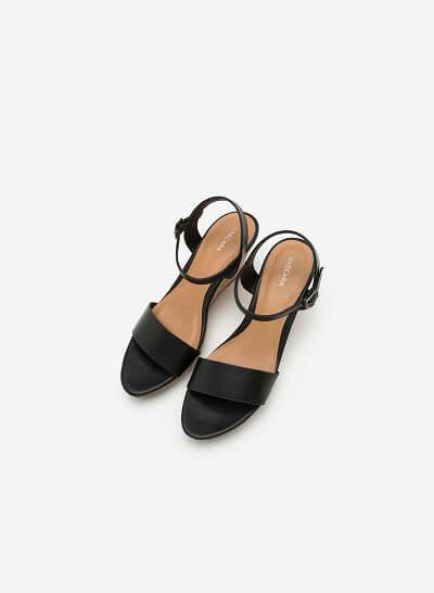 Giày Cao Gót Đế Xuồng - SDX 0406 - Màu Đen - vascara