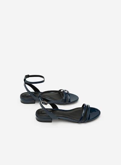 Xem sản phẩm Giày Sandal Quai Ngang - SDK 0287 - Màu Xanh Navy