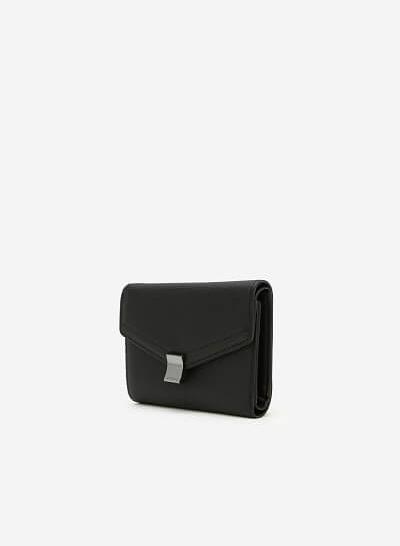 Ví Cầm Tay Envelope - WAL 0154 - Màu Đen - vascara