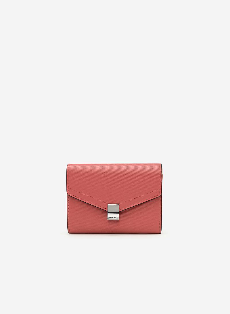 Ví Cầm Tay Envelope - WAL 0154 - Màu Hồng - VASCARA