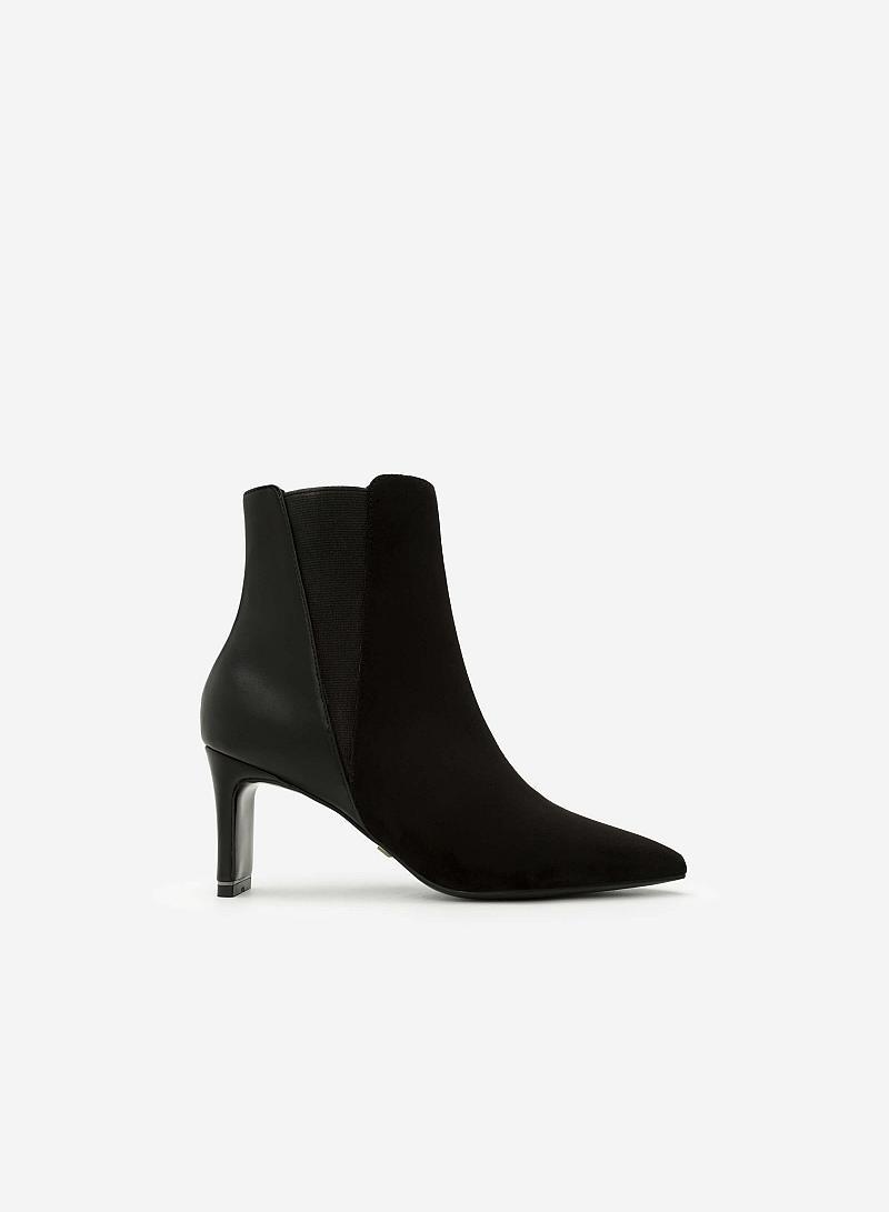 Giày Boots Mũi Nhọn - BOT 0891 - Màu Đen - vascara
