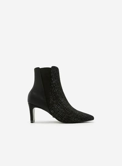 Giày Boots Mũi Nhọn - BOT 0891 - Màu Xám