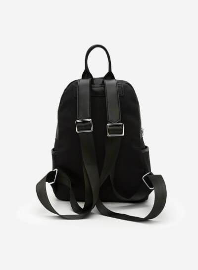 Balo Vải Dù - BAC 0092 - Màu Đen - VASCARA
