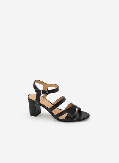 Giày Sandal Chiến Binh - SDN 0610 - Màu Đen