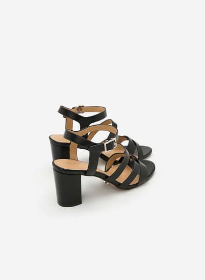 Giày Sandal Chiến Binh - SDN 0610 - Màu Đen - VASCARA
