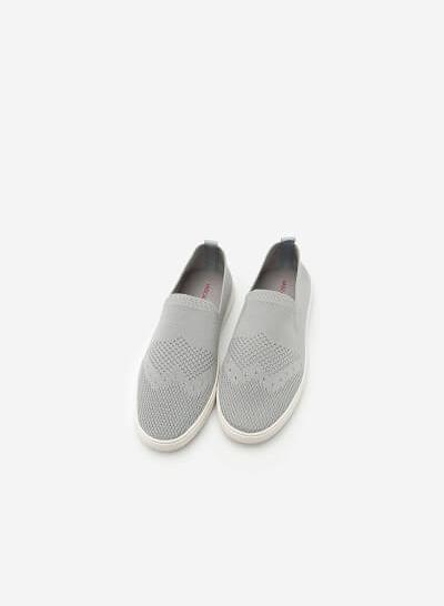 Giày Sneaker Vải Lưới -  Màu Xám - SNK 0011 - VASCARA