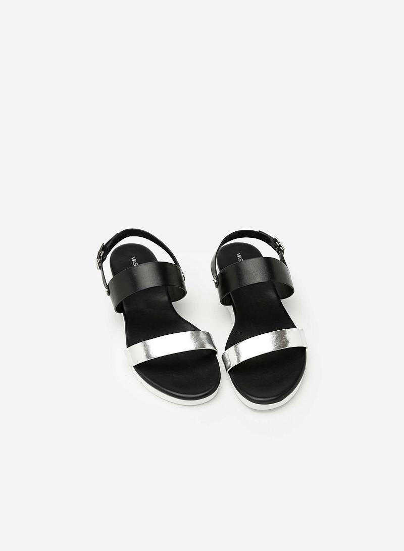 Giày Sandal Quai Ngang - SDK 0284 -  Màu Đen - vascara