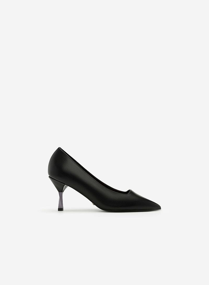 Giày Bít Gót Nhọn - BMN 0297 -  Màu Đen - VASCARA