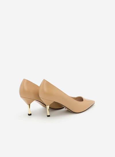 Giày Bít Gót Nhọn - BMN 0297 -  Màu Be - VASCARA
