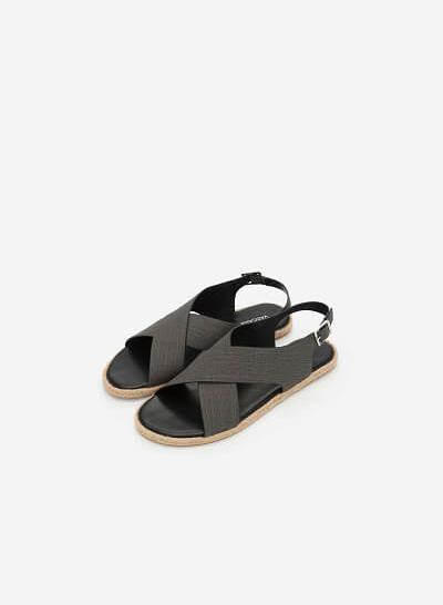 Xem sản phẩm Giày Sandal Quai Đan Chéo - SDK 0292 - Màu Đen