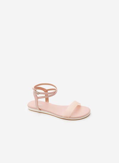 Xem sản phẩm Giày Ankle Strap - SDK 0290 - Màu Hồng