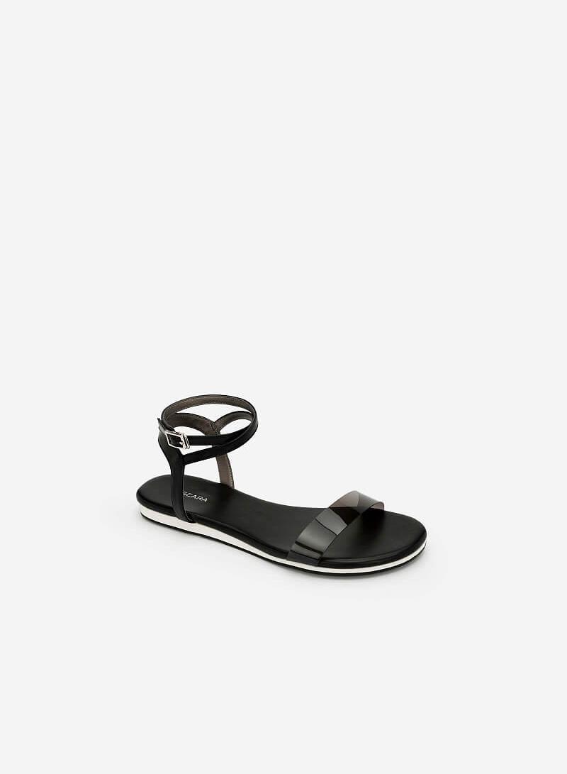 Giày Ankle Strap - SDK 0290 - Màu Đen - vascara