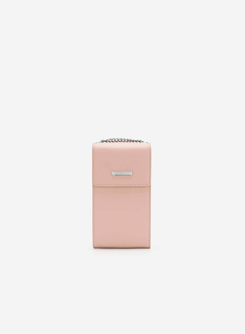 Túi Hộp Phone Pouch - WAL 0177 - Màu Hồng - vascara