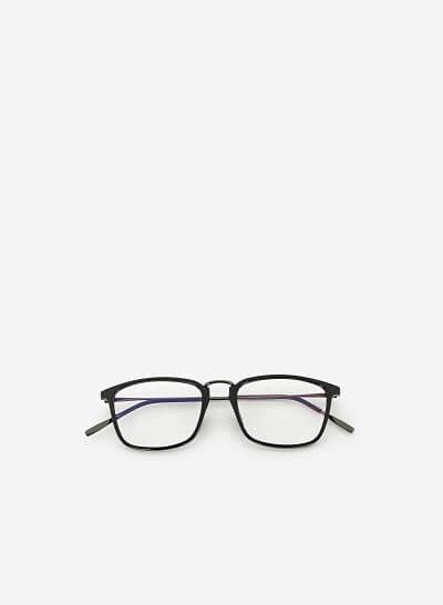 Mắt Kính WAY 0019 - Màu Đen - VASCARA