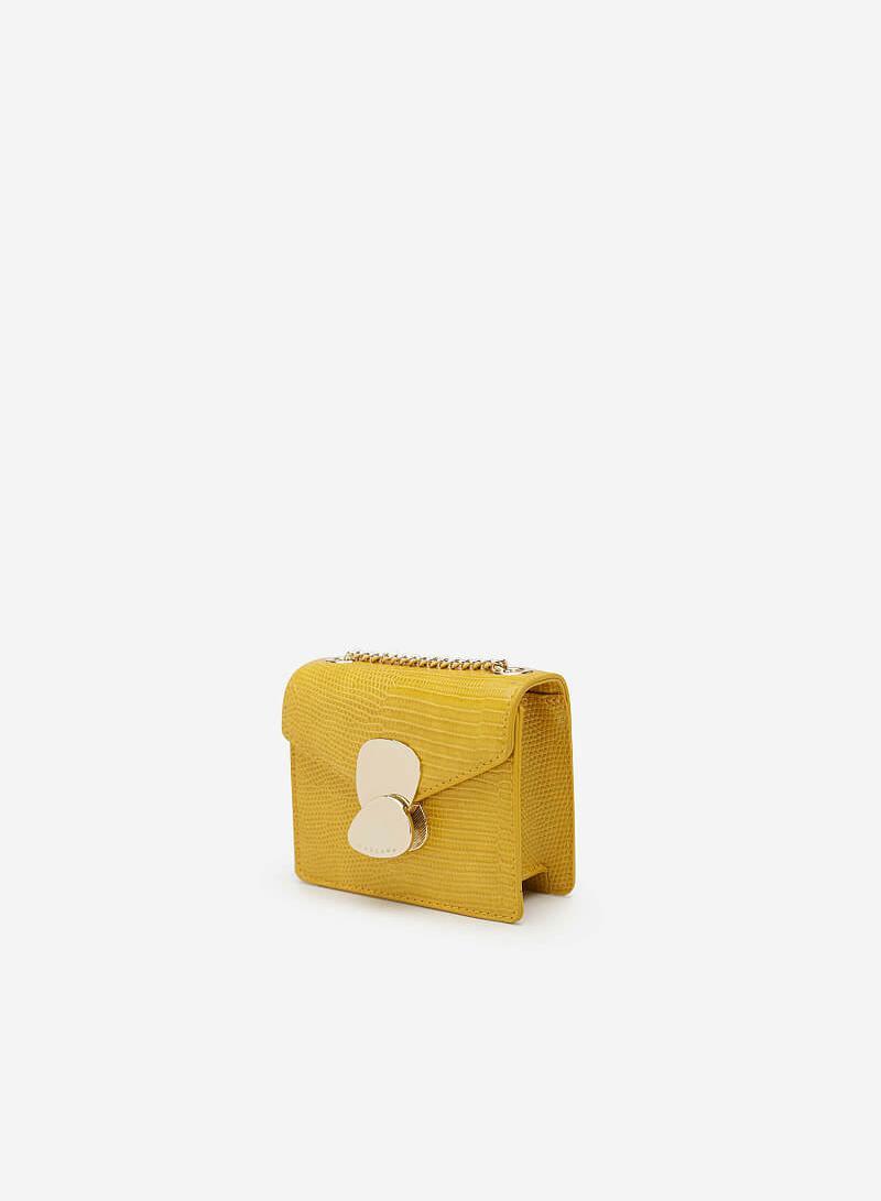 Túi Mini Đa Phong Cách - SHO 0156 - Màu Vàng - VASCARA