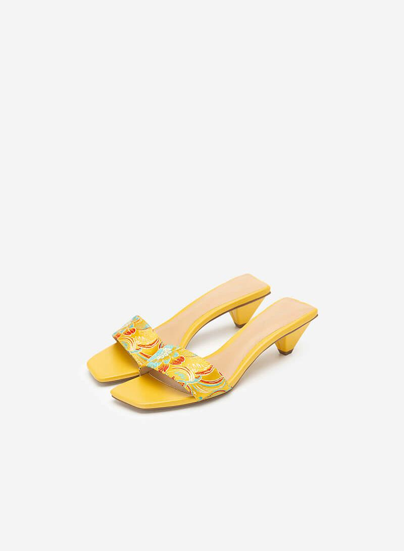 Hài Gấm Cát Tường - GNN 0144 - Màu Vàng