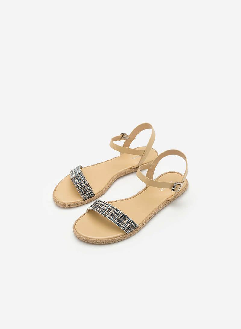 Giày Sandal Quai Ngang SDK 0291 - Màu Be - VASCARA