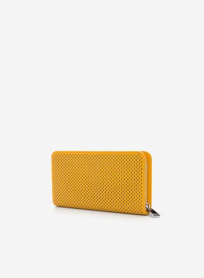 Ví Cầm Tay WAL 0164 - Màu Vàng - vascara