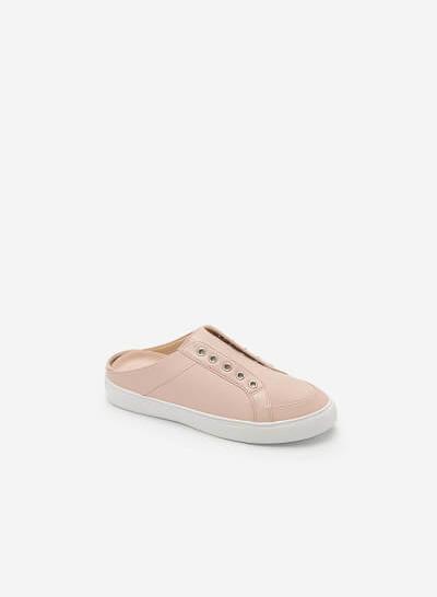 Giày Sneaker Hở Gót - SNK 0021 - Màu Hồng - VASCARA