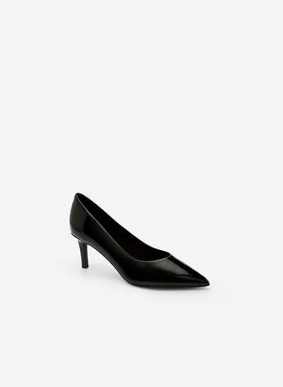 Giày Cao Gót Bít Mũi Nhọn - BMN 0344 -Màu Đen - VASCARA