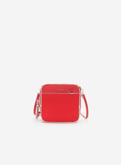 Túi Đeo Chéo Đa Năng Phone Pouch - SHO 0138 - Màu Đỏ - vascara.com
