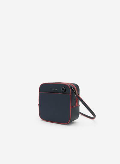 Túi Đeo Chéo Đa Năng Phone Pouch - SHO 0138 - Màu Xanh Navy - vascara