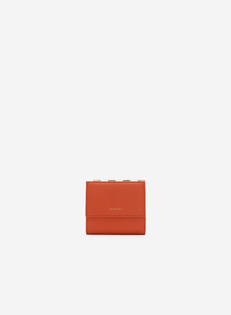 Ví Cầm Tay Nắp Gặp Mini - WAL 0180 - Màu Hồng Đậm - vascara