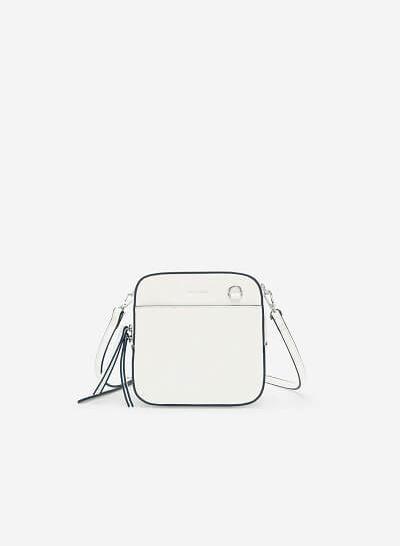 Xem sản phẩm Túi Đeo Chéo Đa Năng Phone Pouch - SHO 0138 - Màu Trắng
