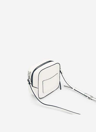 Túi Đeo Chéo Đa Năng Phone Pouch - SHO 0138 - Màu Trắng - VASCARA