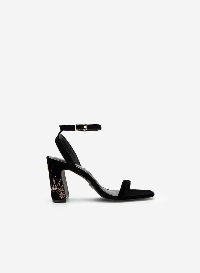 Giày Ankle Strap Goddess Circe - SDN 0684 - Màu Đen - vascara.com