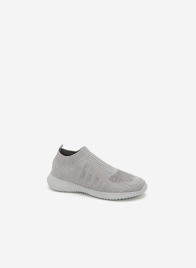 Giày Sneaker Vải Dệt LiteKnit - SNK 0030 - Màu Xám - VASCARA