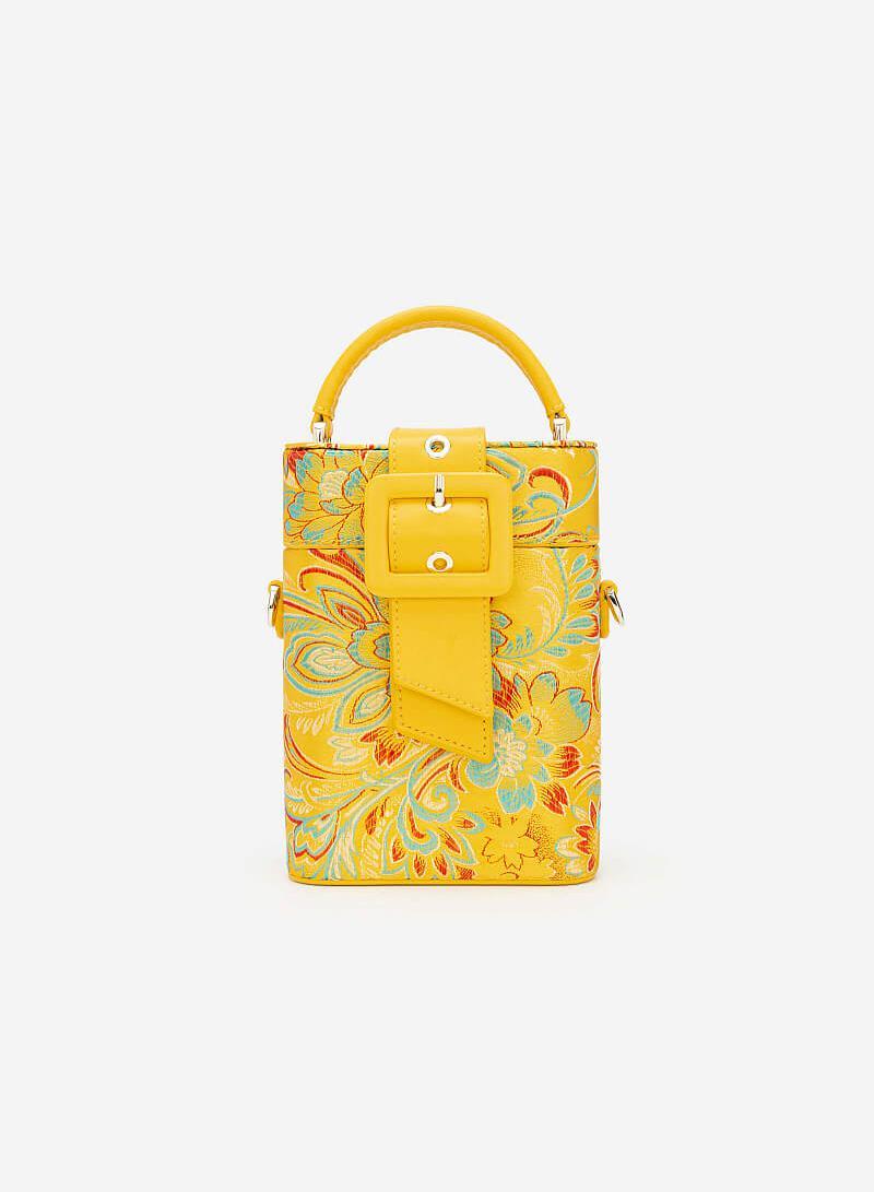 Túi Gấm Cát Tường - SAT 0248 - Màu Vàng - VASCARA