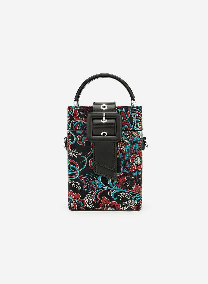 Túi Gấm Như Ý - SAT 0248 - Màu Đen - VASCARA