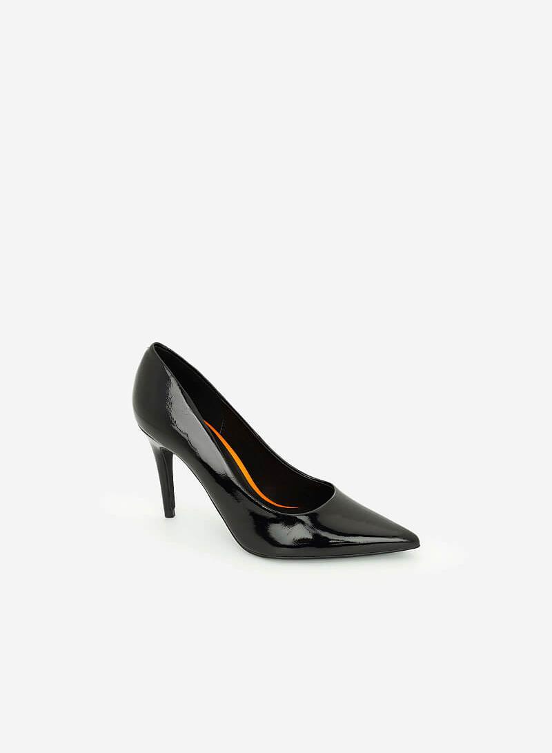 Giày Cao Gót Neon Light - BMN 0428 - Màu Đen - VASCARA
