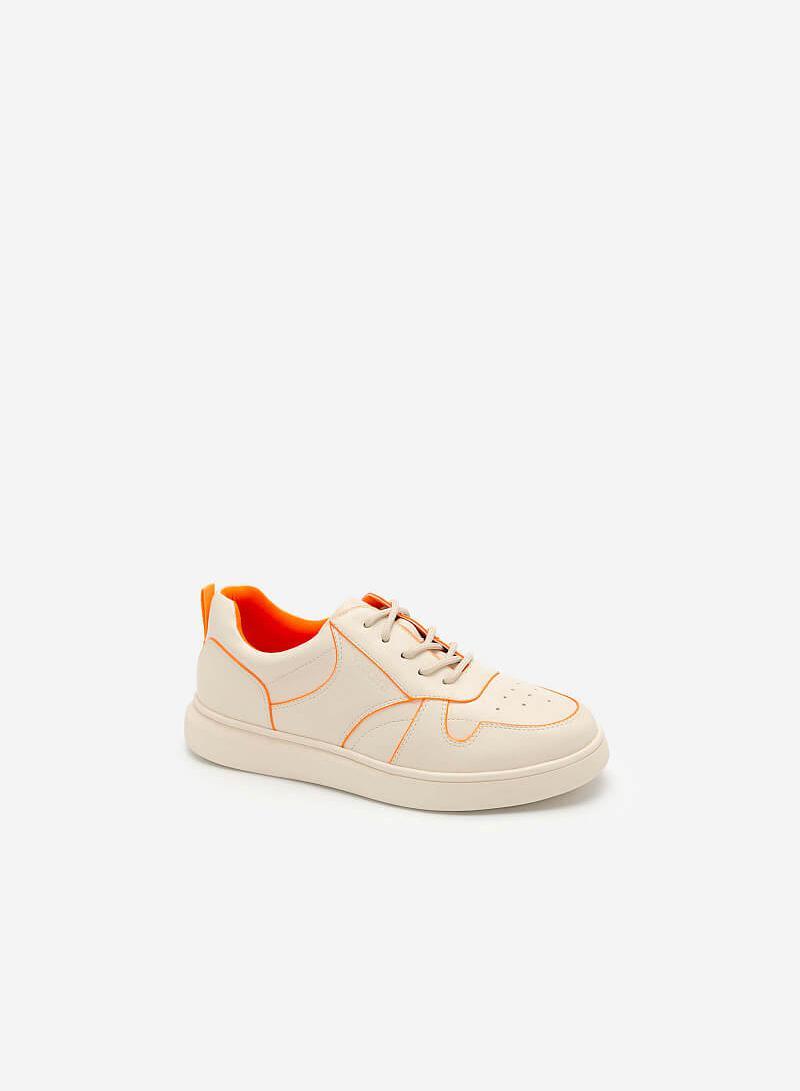Giày Sneaker Neon Light 2 - SNK 0033 - Màu Kem - vascara.com