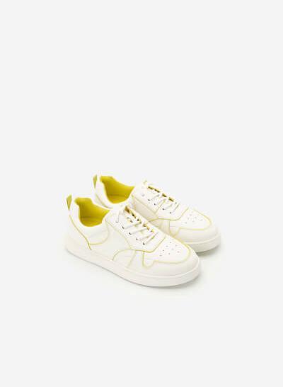 Giày Sneaker Neon Light 2 - SNK 0033 - Màu Trắng - VASCARA