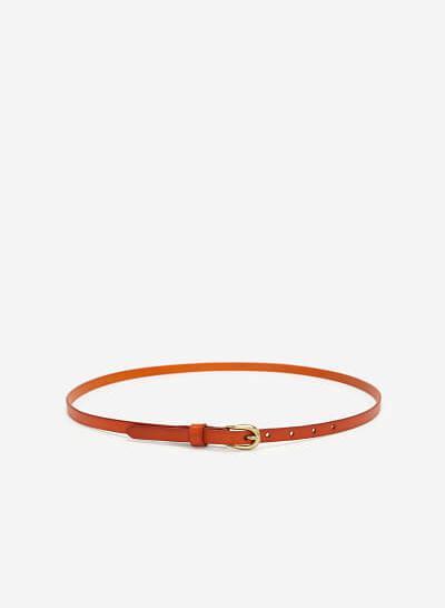 Thắt Lưng Nữ - WAI 0022 - Màu Nâu Sáng