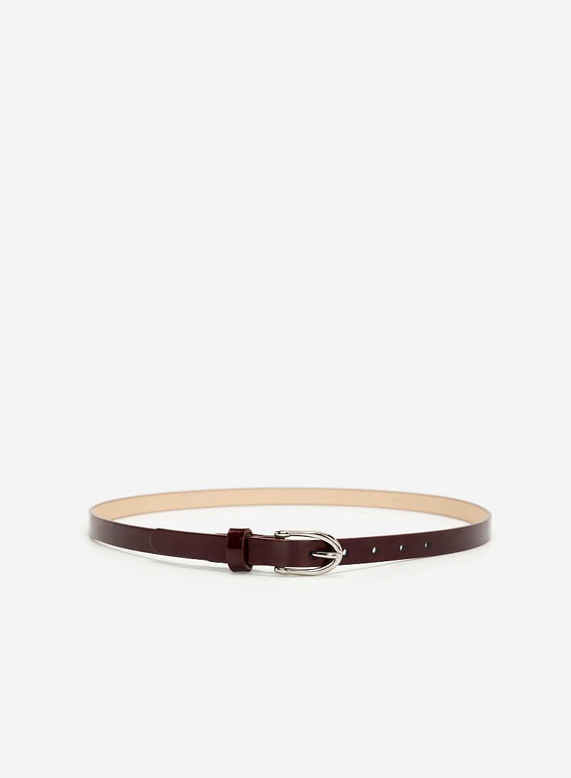 Thắt Lưng Nữ - WAI 0023 - Màu Đỏ Đậm - VASCARA