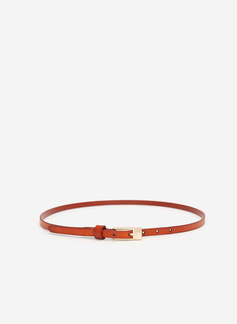 Thắt Lưng Nữ - WAI 0024 - Màu Nâu - VASCARA