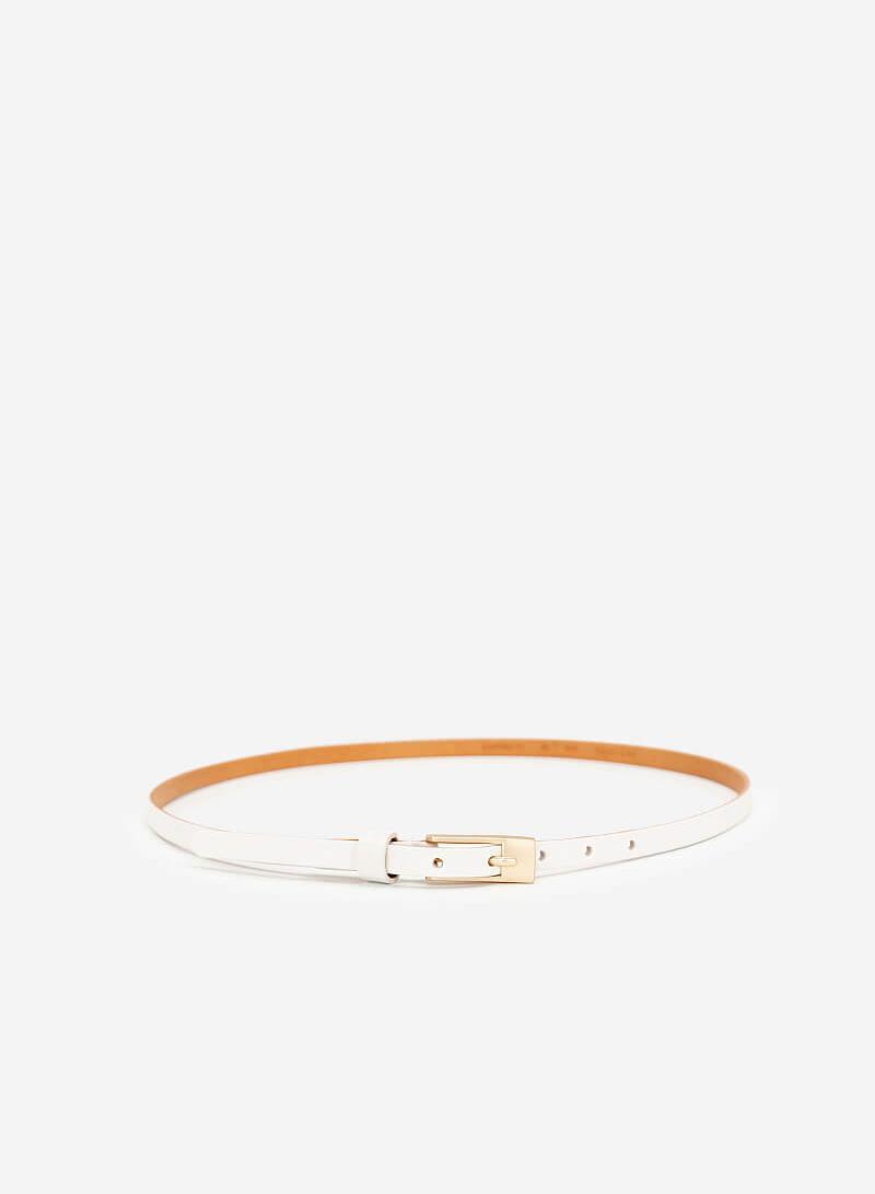 Thắt Lưng Nữ - WAI 0024 - Màu Trắng - VASCARA