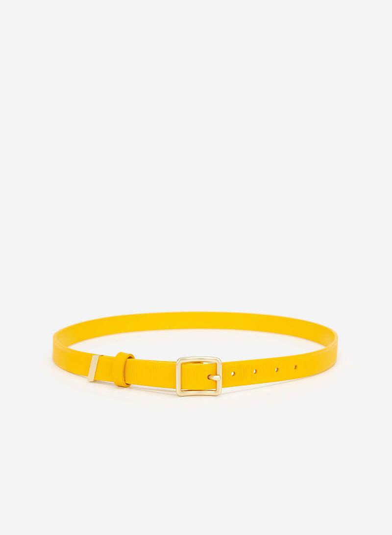 Thắt Lưng Nữ - TRO 0020 - Màu Vàng - VASCARA