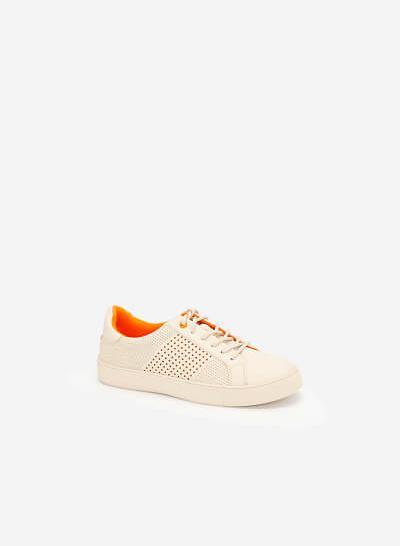 Giày Sneaker Neon Light - SNK 0032 - Màu Kem - vascara.com