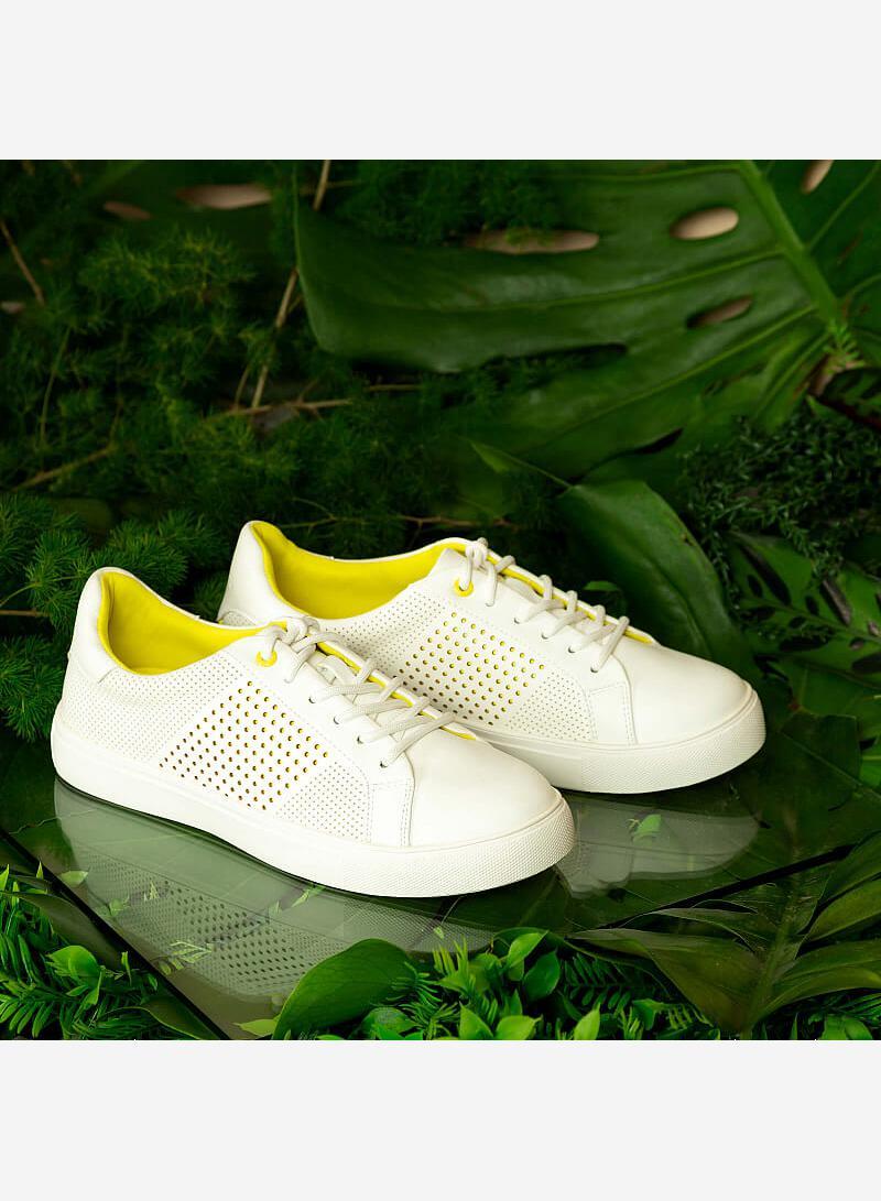 Giày Sneaker Neon Light - SNK 0032 - Màu Trắng - vascara.com