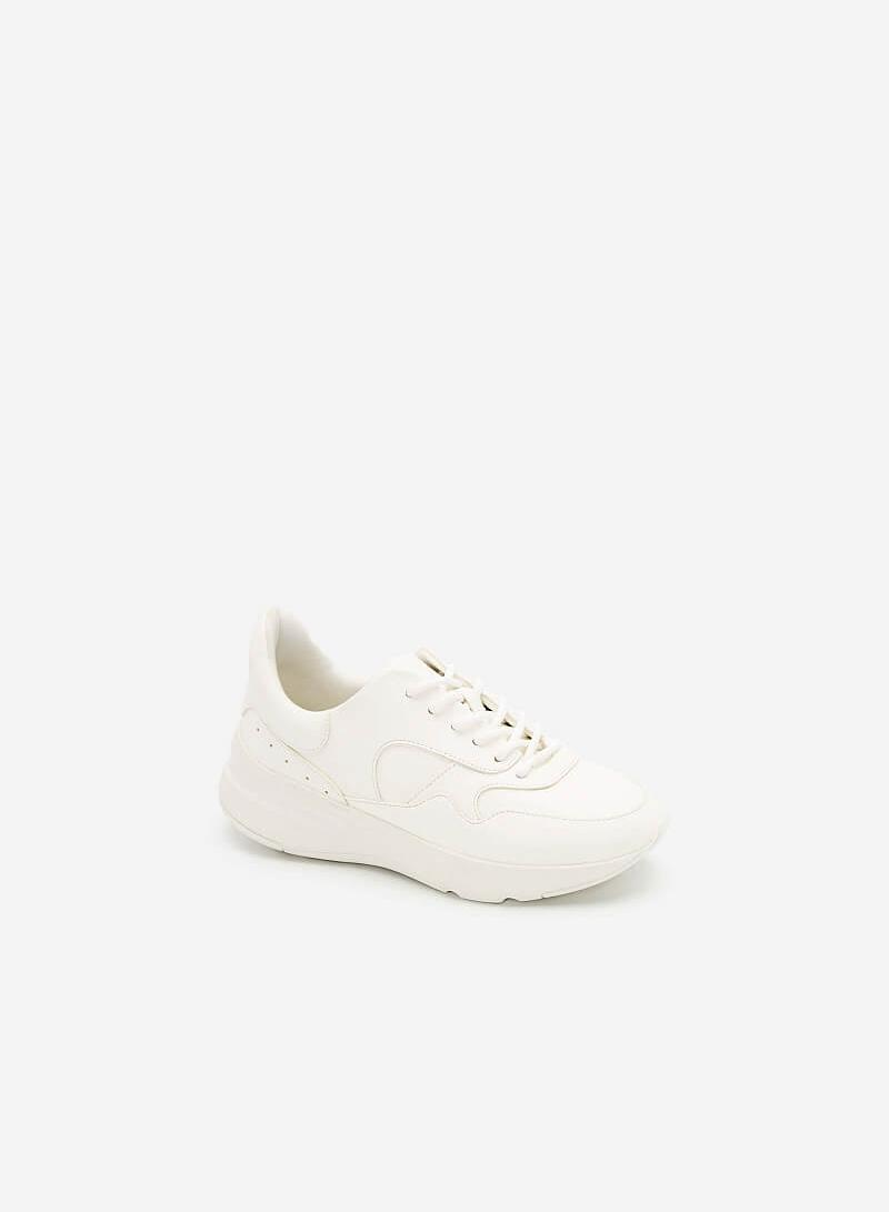 Giày Chunky Sneakers Dáng Thể Thao - SNK 0034 - Màu Trắng - VASCARA