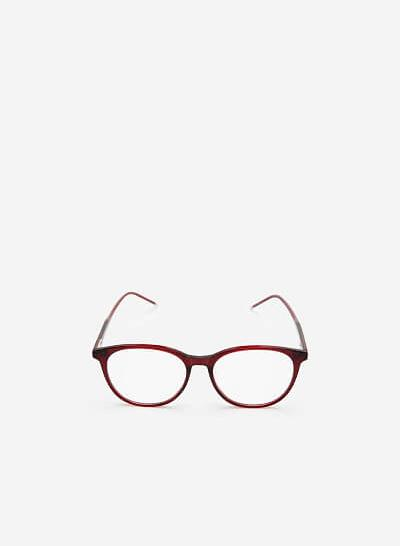 Mắt kính ROU 0039 - Màu Đỏ - VASCARA